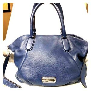 MARC by MARC JACOBS Blue Leather Classic Bag